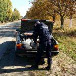 Более 200 кг колбас и семь мешков обуви обнаружили пограничники в автомобиле молдаванина (ФОТО)
