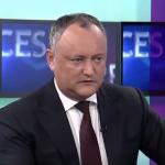 Додон: Я не сдался и не буду сдаваться перед парламентским большинством (ВИДЕО)