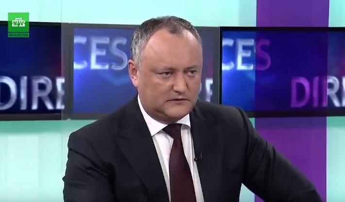 """Додон: Канду и Филип – как комары, которые пытаются """"укусить"""" Россию"""