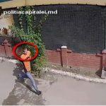 Обокравший среди бела дня девушку на Ботанике преступник попал на видео