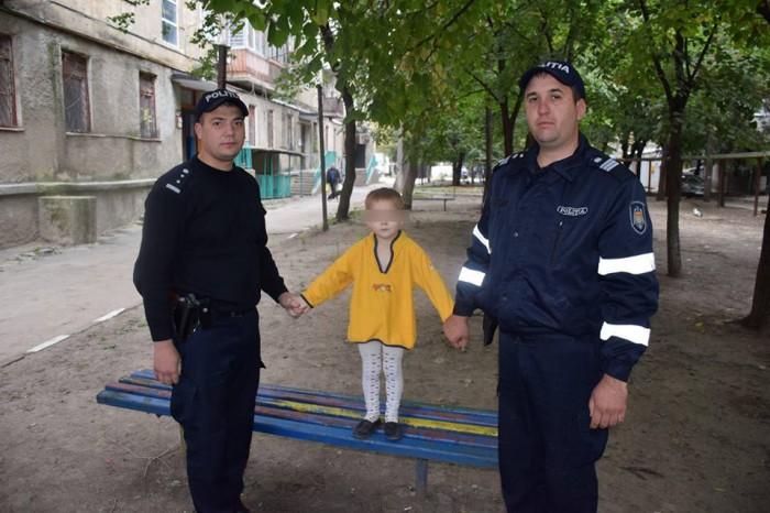 Двухлетнего мальчика без присмотра родителей нашли на улице в Бельцах (ФОТО)