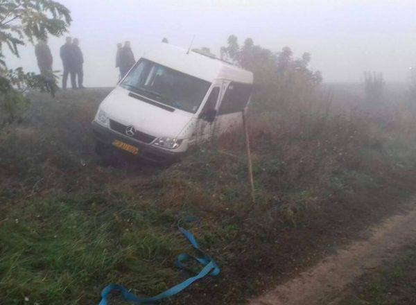 Подробности утреннего ДТП с микроавтобусом: две женщины ранены (ФОТО)