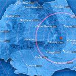 В выходные во Вранче произошли сразу два землетрясения