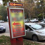 Находчивый кишиневец обустроил свою личную заправку для электромобиля (ФОТО)