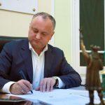Додон поздравил Йоханниса и весь румынский народ с Национальным днем Румынии (ФОТО)