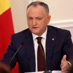 Додон: Проект правительства по Приднестровью не соответствует интересам укрепления молдавской государственности