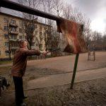 Власти Оргеева намерены штрафовать горожан за выбивание ковров во дворах