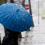 На этой неделе в Молдове ожидаются дожди и мокрый снег
