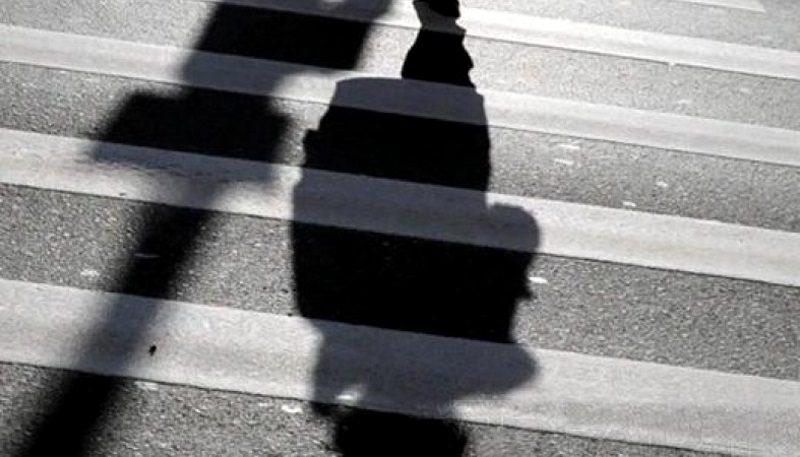 В столице водитель сбил пешехода и скрылся с места ДТП (ВИДЕО)