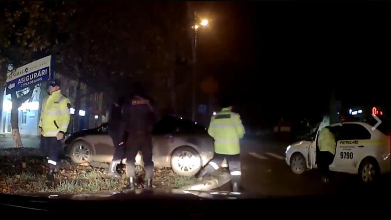В Единцах полицейские устроили погоню за нетрезвым водителем (ВИДЕО)