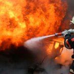В заброшенном кафе в Леова случился серьёзный пожар (ВИДЕО)