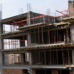 В Яловенах рабочий погиб, упав с 9 этажа строящегося здания