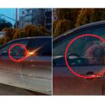 Столичного автомобилиста наказали за езду с ребенком на руках