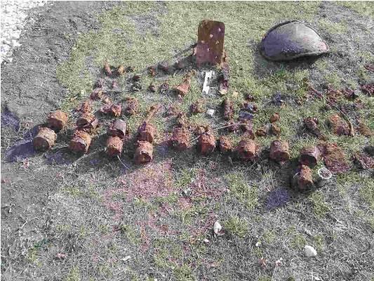Опасные неразорвавшиеся снаряды времен ВОВ были обнаружены на стройке в Бельцах (ФОТО)