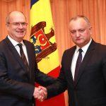 Додон наградит Орденом Почета посла Франции в Молдове Паскаля Вагоня
