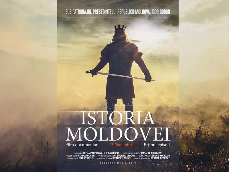 Президент объявил дату премьеры первой серии фильма «История Молдовы»