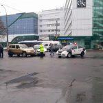 В столице утром произошло ДТП: двое водителей не поделили дорогу