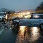 В Оргееве двое пассажиров попали в больницу: водитель проигнорировал погодные условия