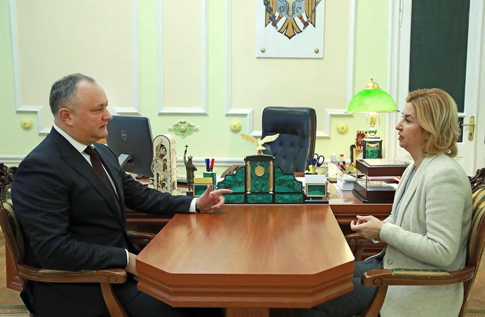 Додон: Деятельность исполнительной власти Гагаузии – пример успешного администрирования для регионов страны