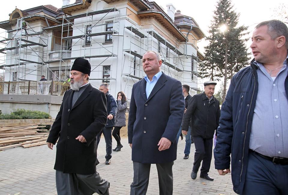 Додон: Буду последовательно защищать православие и традиционные ценности нашего народа