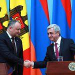 Додон встретился с Саргсяном: о чем говорили президенты Молдовы и Армении (ФОТО)
