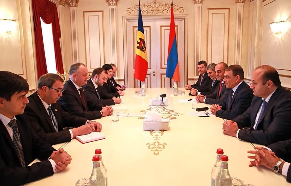 Парламенты Молдовы и Армении активизируют сотрудничество