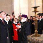 Додон посетил главный храм Армянской апостольской церкви