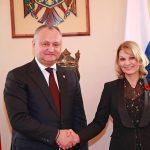 Президент вручил госнаграды известной молдавской актрисе и председателю молдо-российской межправкомиссии (ФОТО)
