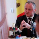 Додон обсудил вопросы внутренней и внешней политики с послами