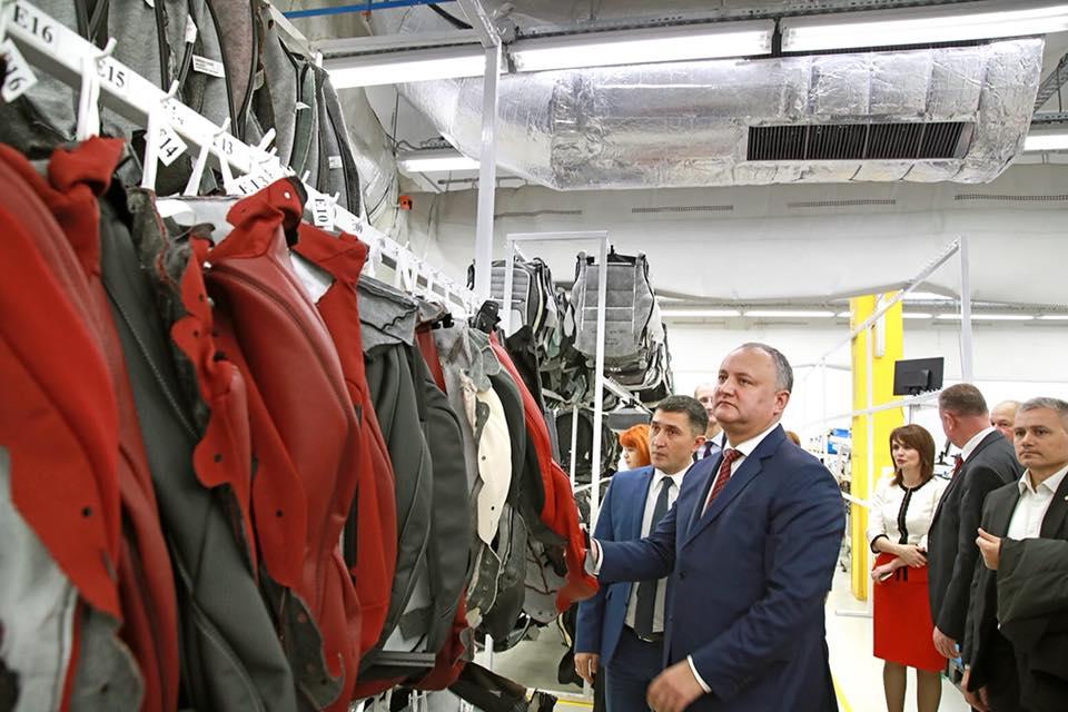 Додон: Развитие свободных экономических зон – одна из важных задач, над решением которой мы должны упорно работать
