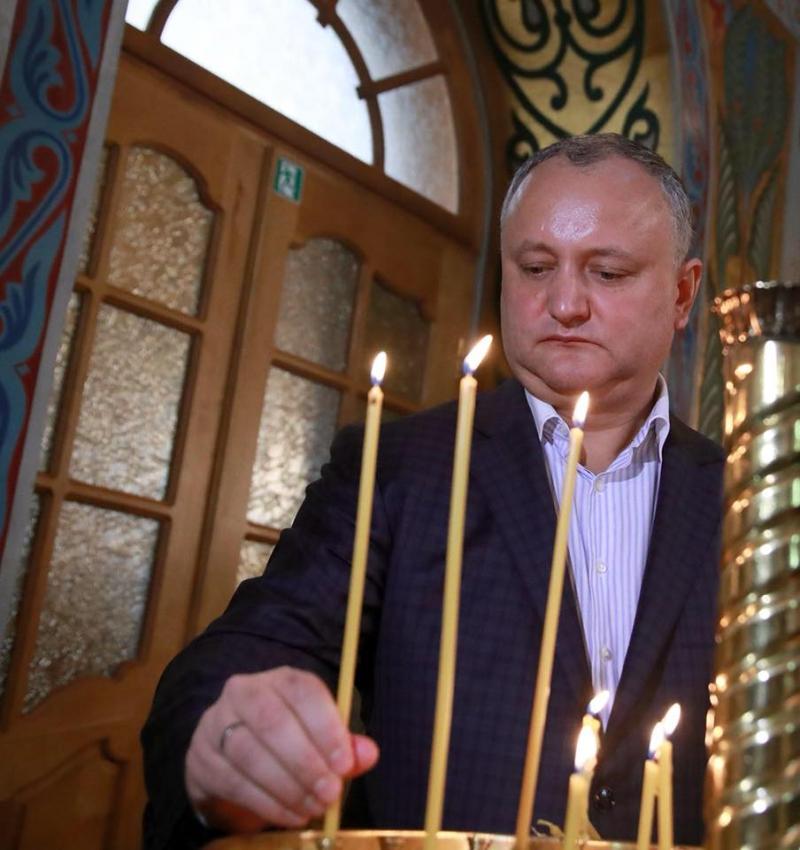 Додон: Православная вера – краеугольный камень молдавской национальной и культурной идентичности