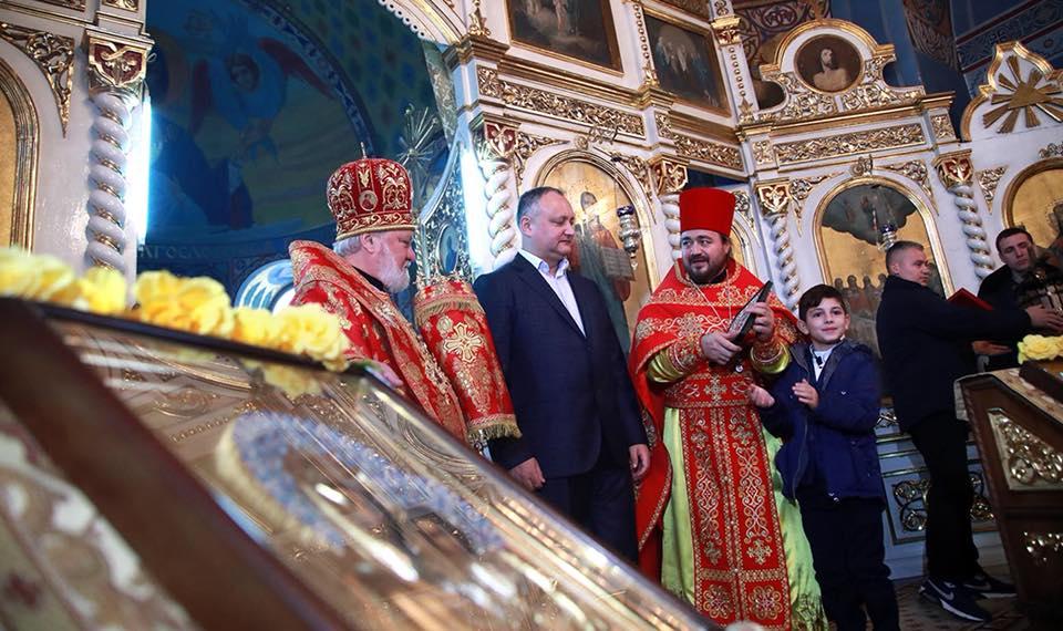 Додон: Гагаузия показывает пример всей Молдове, как надо беречь веру своих предков