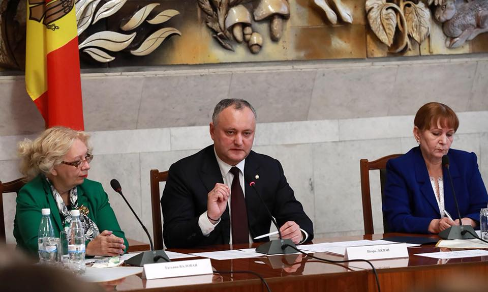 Додон: Хочу развивать экономическое сотрудничество для создания рабочих мест в Молдове