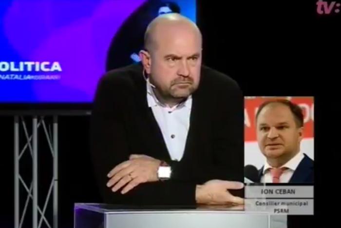 Чебан загнал в тупик члена партии Санду в прямом эфире (ВИДЕО)