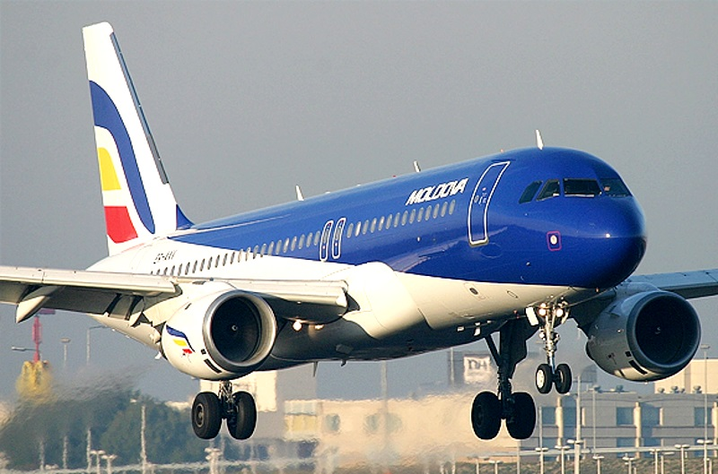 """На имущество """"Air Moldova"""" стоимостью более 300 млн леев был наложен арест"""