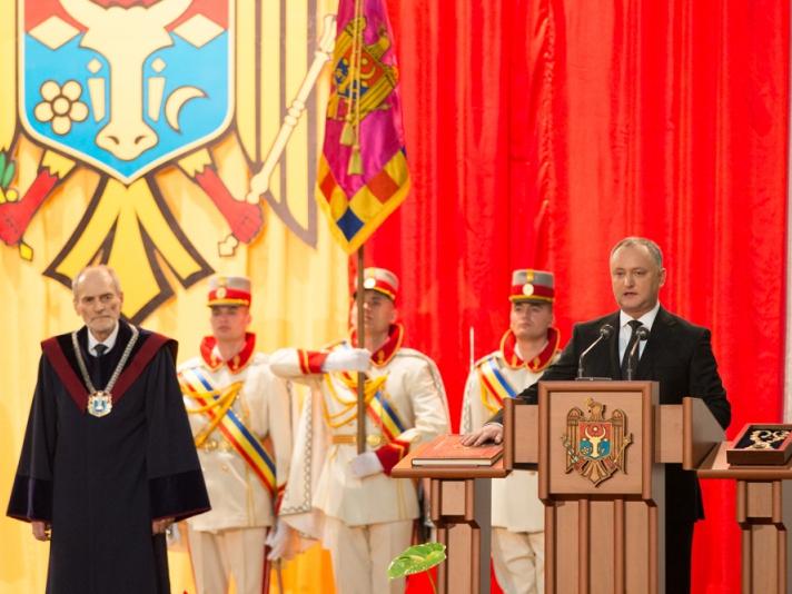 Сегодня – год, как Игорь Додон был всенародно избран президентом Молдовы
