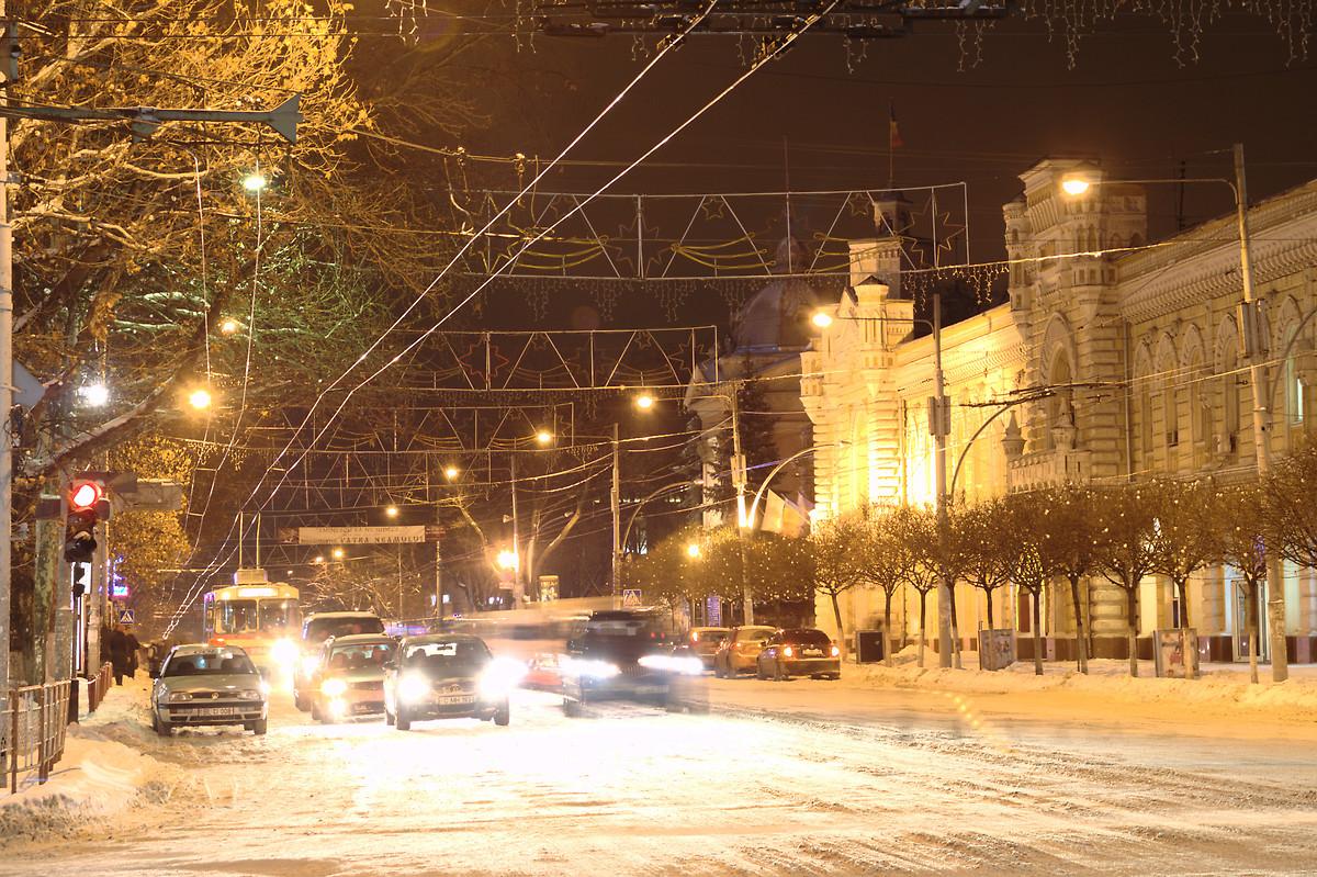 Кишинев вошел в десятку самых популярных городов СНГ зимой