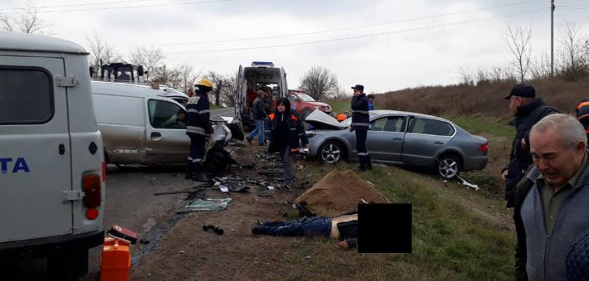 В смертельном ДТП в Сынжерейском районе погиб мужчина