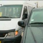 Столичная маршрутка попала в ДТП: по словам пассажира, водитель уснул за рулем (ВИДЕО)