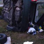 В Кантемире автомобиль вылетел в кювет и перевернулся (ФОТО)