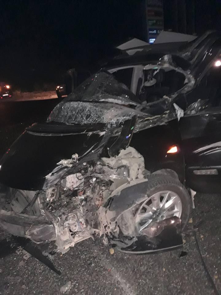 Чудовищная авария с двумя пострадавшими произошла на въезде в Кишинев (ФОТО)