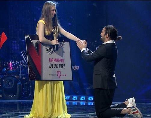 16-летняя молдаванка Анна Мунтяну победила на шоу Vocea Romaniei (ВИДЕО)