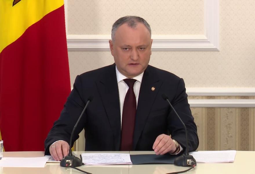 Додон рассказал о политическом и социальном прогрессе в решении приднестровской проблемы