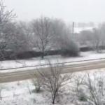 Пунктуальная зима в Бричанах: в районе уже второй раз выпал снег (ВИДЕО)
