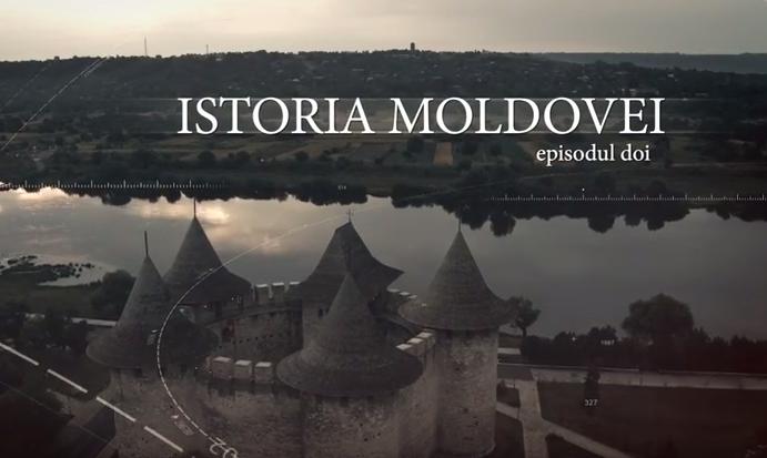 """Вторая серия """"Истории Молдовы"""" представлена на русском языке (ВИДЕО)"""