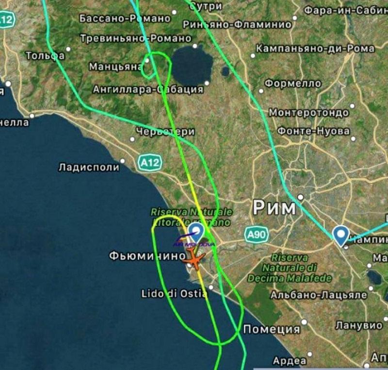 Авиационные власти РМ и авиакомпания Air Moldova прокомментировали инцидент над Италией
