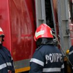 Крупный пожар в Каушанах: девять человек эвакуированы, госпитализирован младенец