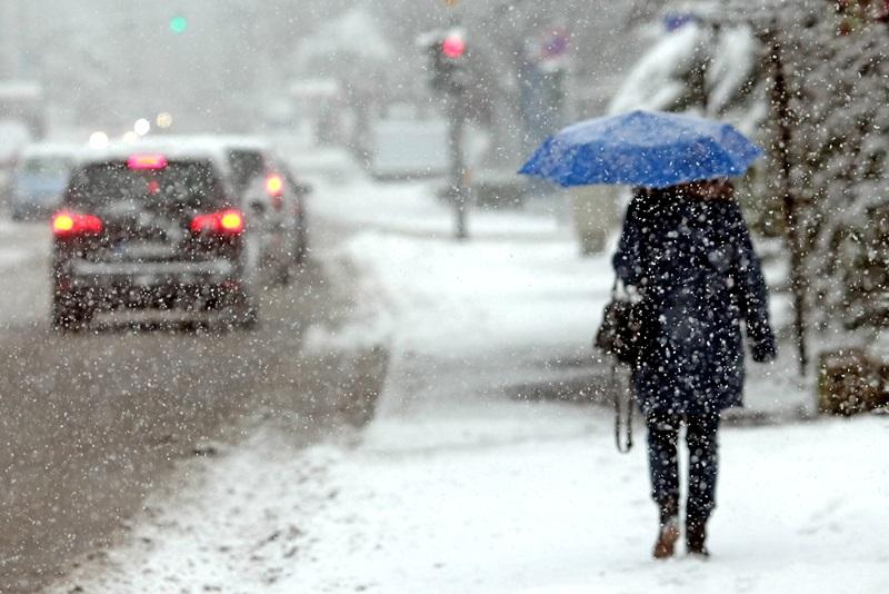 В воскресенье по всей Молдове выпадет снег