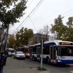 В период зимних праздников на улицах Кишинева ходит меньше общественного транспорта