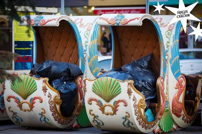 На улице 31 августа идут последние приготовления к Рождественской ярмарке (ФОТО)